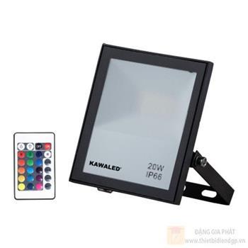 Đèn pha led đổi màu RGB2 - 100W FL100W-RGB2