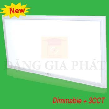 Đèn Led Panel lớn 30x60cm Dimable + 3CCT (Remote RF) FPL-6030/3C-RC