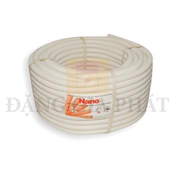 Ống luồn dây PVC chống cháy, chống dập trắng (50m/cuộn) FRG16W