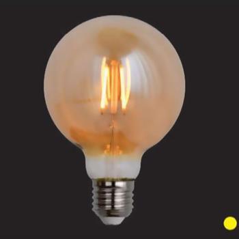 Bóng led E27- Ø95*H140-4W, ánh sáng vàng BÓNG G95