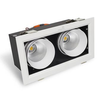 Đèn Led Hộp Âm Trần Rọi TOPAZ (CL Series) 2 bóng GL-2*10SS-V227