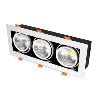 Đèn Led Hộp Âm Trần Rọi TOPAZ (CL Series) 3 bóng GL-3*10SS-V334