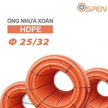 Ống nhựa xoắn chịu lực HDPE phi 25/32   OSPEN Φ 25