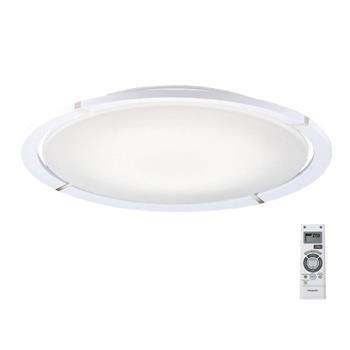 Đèn trần Led cỡ lớn 47.2W, Ø800 x Dày 159mm, trắng & bạc mạ crom (tắt an toàn) HH-LAZ3005K88