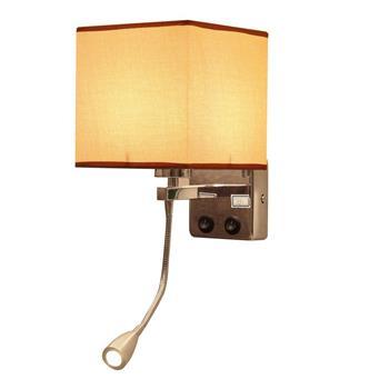 Đèn gắn tường đầu giường phòng ngủ kèm đèn rọi Venus HT7882/1 HT7882/1