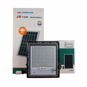 Đèn pha năng lượng mặt trời JinDian 300W JD-7300