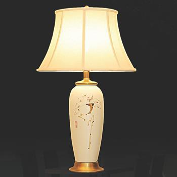 Đèn bàn chụp vải thân gốm VENUS KT5012L KT5012L