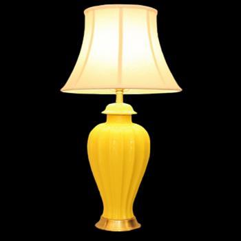 Đèn bàn chụp vải thân gốm VENUS KT7013 KT7013