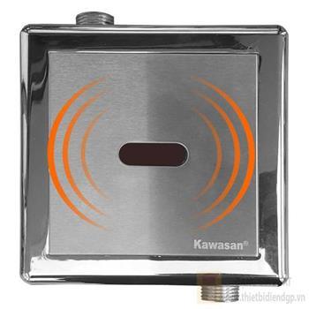 Van cảm ứng tự xả bồn tiểu nam âm tường KW-8511