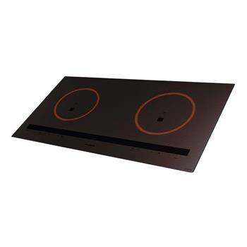 Bếp điện từ 2800W màu mặt xám thân đen KY-C227D