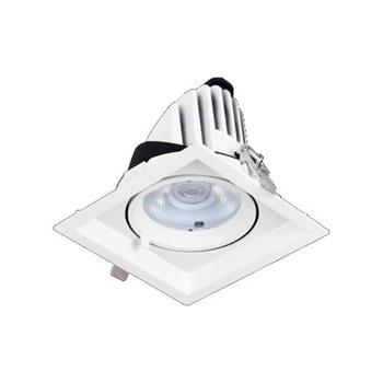 Đèn âm trần vuông chiếu điểm Ø138*H105 - COB 18W, Khoét Lỗ Ø120 LA-513
