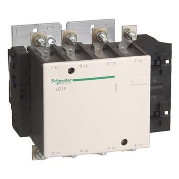Contactor 4 cực loại F, điện áp điều khiển DC LC1F1154●●