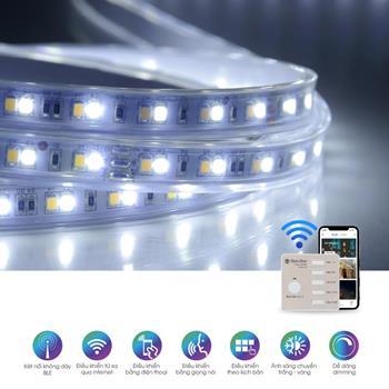 Đèn led dây đổi màu CCT Model: LD01.RF.BLE LD01.RF.BLE 1000/7W