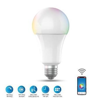 Đèn Led bulb Rạng Đông RGB wifi 9W LED A60 RGBW/9W.WF