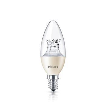 Đèn led nến Philips 5.5W Master E14 2700K Led Nến 5.5W E14 2700K