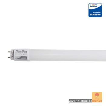 Bóng đèn led tube T8 thủy tinh bọc nhựa 18W LED TUBE T8 TT02 120/18W