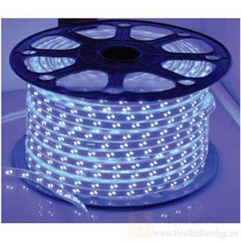 Led dây, 220V- 100 m 2 đường bóng, ánh sáng trắng, vàng, xanh dương, xanh lá, đỏ, hồng và nhiều màu 5730