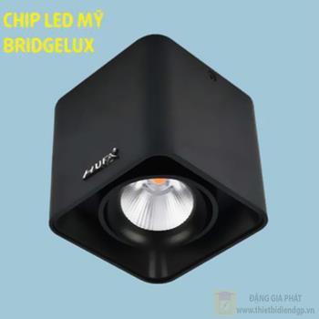 Đèn downlight ốp nổi led COB L105*W105*H100-10W, vỏ màu đen LN-28 LED