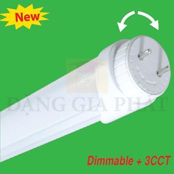 Đèn LED Tube nhôm T8 dùng dimable + 3CCT( Remonte RF) LT8-60/3C-RC