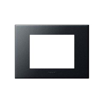 Mặt che nhựa đen Arteor – 3 module – 575012 575012