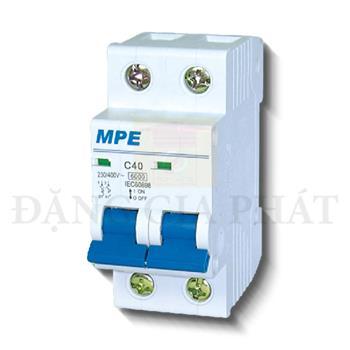 Thiết bị đóng ngắt MCB 2P 4.5KA MP4-C250