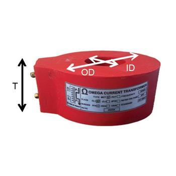 Biến dòng bảo vệ PCT OMEGA loại đúc tròn 15VA PCT 150/5A, CL. 5P10, 15VA