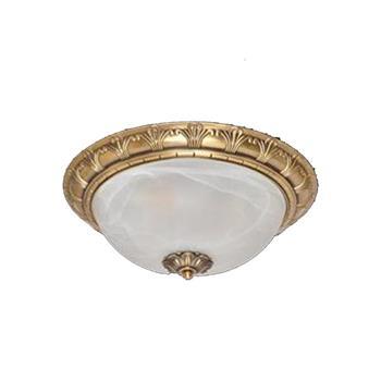 Đèn mâm Verona ốp trần Đồng Ø300 x H150 MĐ-2001/3
