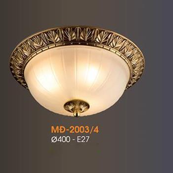 Đèn mâm Verona ốp trần Đồng Ø400, E27 MĐ-2003/4