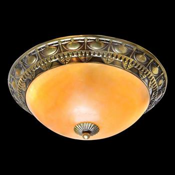 Đèn mâm Verona ốp trần Đồng Ø400, E27 MĐ-204M