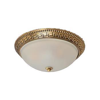 Đèn mâm Verona ốp trần Đồng Ø300 x H150 MĐ-7101/300