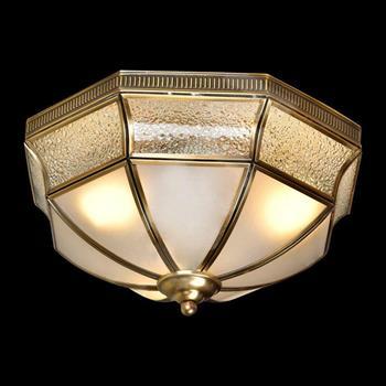 Đèn mâm Verona ốp trần Đồng Ø320, E27 MĐ-7170/3