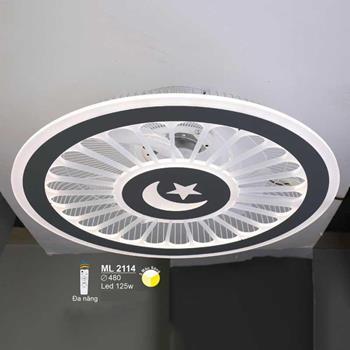 Đèn mâm led cao cấp Ø480 LED 125W ML-2114