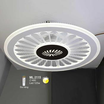 Đèn mâm led cao cấp Ø480 LED 125W ML-2115