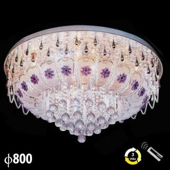 Đèn mâm pha lê trang trí phòng khách ML-8204 ML-8204