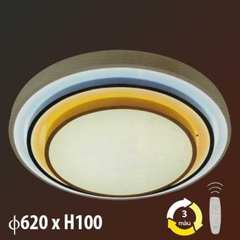 Đèn mâm led trang trí 72W + 30W x 2 ML-8497