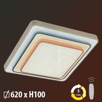 Đèn mâm phòng khách 90W + 30W x 2 ML-8498