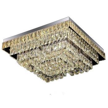 Đèn Mâm Vuông Pha Lê Ø700*700*H230, LED - Pha lê loại 1 MLF 7113