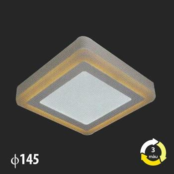Đèn Mâm Áp Trần MSS-521 SMD 6W+3W MSS-521