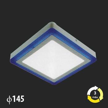 Đèn Mâm Áp Trần MSS-522 SMD 6W+3W MSS-522