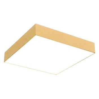 Đèn ốp trần vuông Xi mạ vàng 18k cao cấp SMD 30W MSS-596