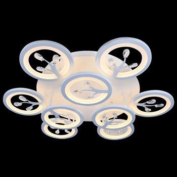 Đèn mâm Verona ốp trần Led Ø700 x H100, có remote, ánh sáng 3 chế độ MT-3650/9