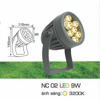 Đèn pha Led cao cấp NC 02 LED 9W NC 02 LED 9W