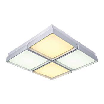 Đèn ốp trần Led vuông kiểu sang trọng Ø500*H100, Ánh sáng trắng, vàng, trung tính NC 2212