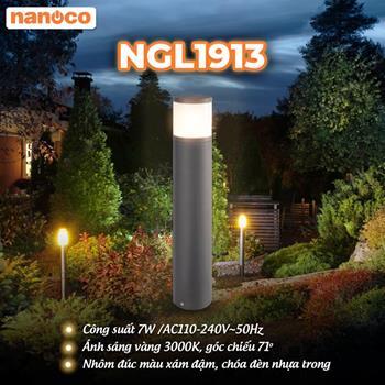 Đèn Sân Vườn LED Nanoco NGL1913 7W NGL1913
