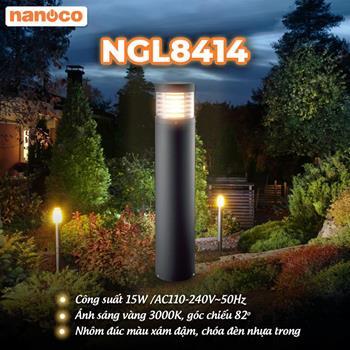 Đèn Sân Vườn LED Nanoco NGL8414 15W NGL8414