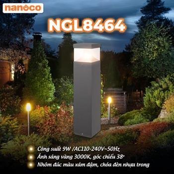 Đèn Sân Vườn LED Nanoco NGL8464 9W NGL8464