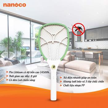 Vợt muỗi nanoco NMR101... NMR101