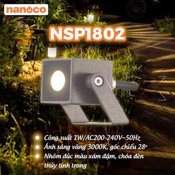 Đèn Spotlight Sân Vườn LED Nanoco NSP1802