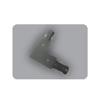 Khớp nối chữ L thanh ray loại H màu đen NTR-LCB