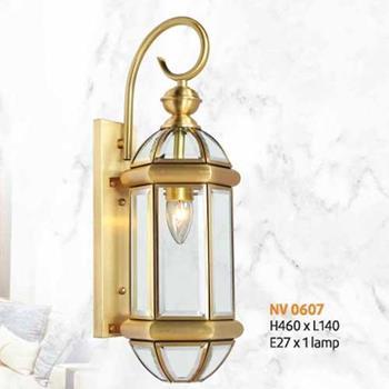 Đèn vách đồng L140 x H460, E27 x 1 lamp NV 0607